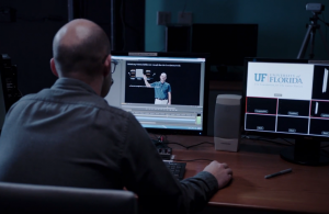 Editing an asynchronous video lecture