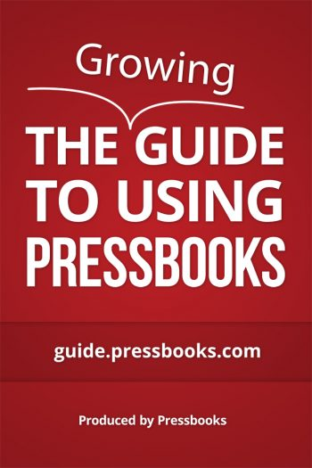 Cover image for University of Florida Pressbooks User Guide
